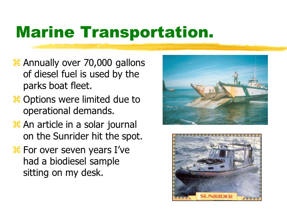 Marine Transportation.