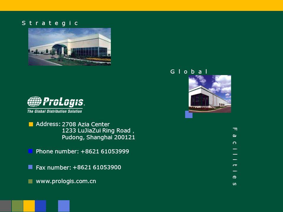 17 ProLogis Park Suzhou - Clients