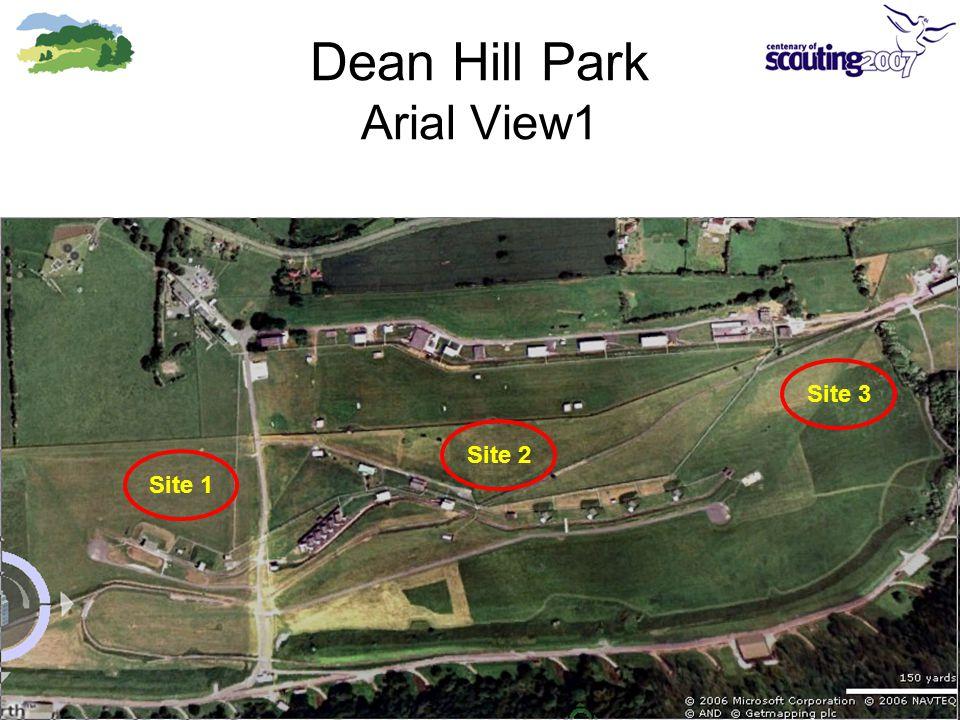Dean Hill Park Arial View1 Site 2Site 1Site 3