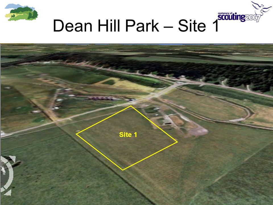 Dean Hill Park – Site 1 Site 1