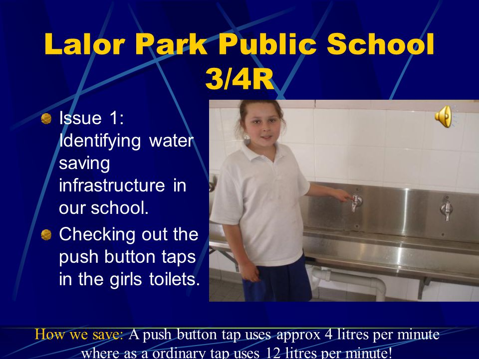 Lalor Park Public School 3/4R The Background: Finding out all about Water.