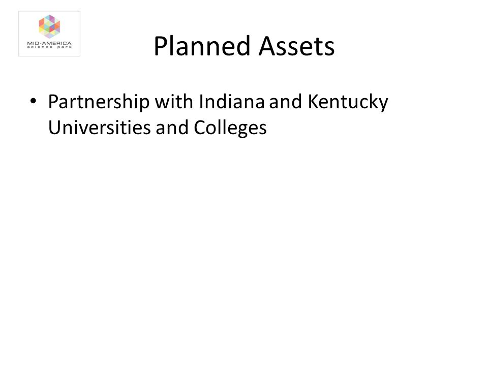 Planned Assets Partnership with Indiana and Kentucky Universities and Colleges