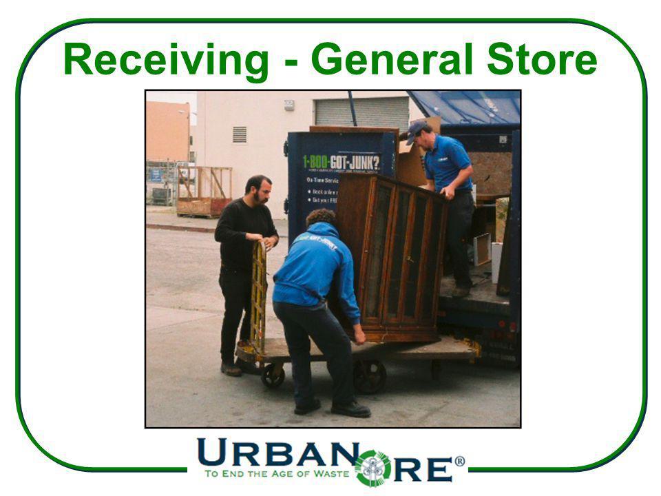 Receiving - General Store