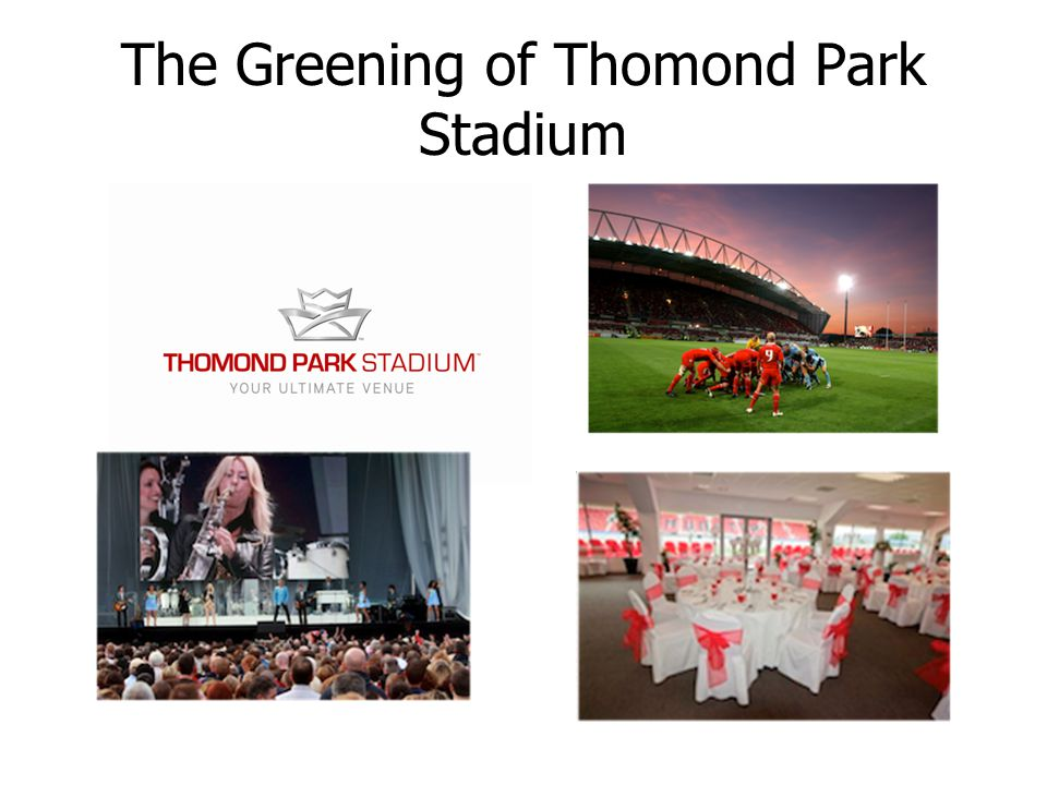 The Greening of Thomond Park Stadium
