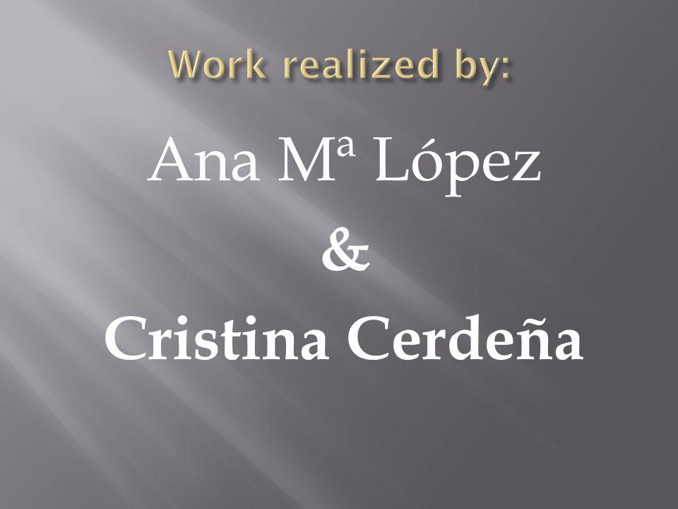 Ana Mª López & Cristina Cerdeña