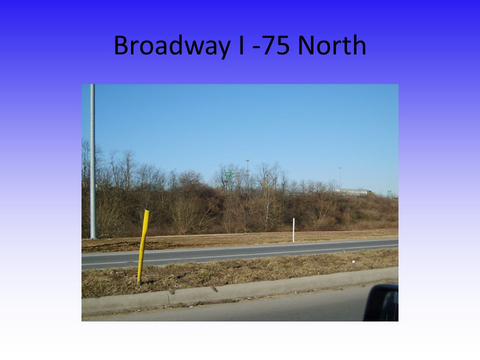 Broadway I -75 North