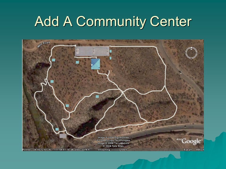 Add A Community Center