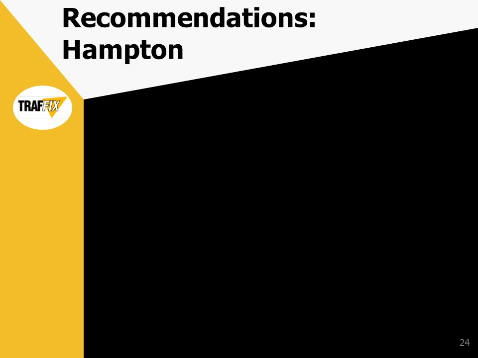 24 Recommendations: Hampton