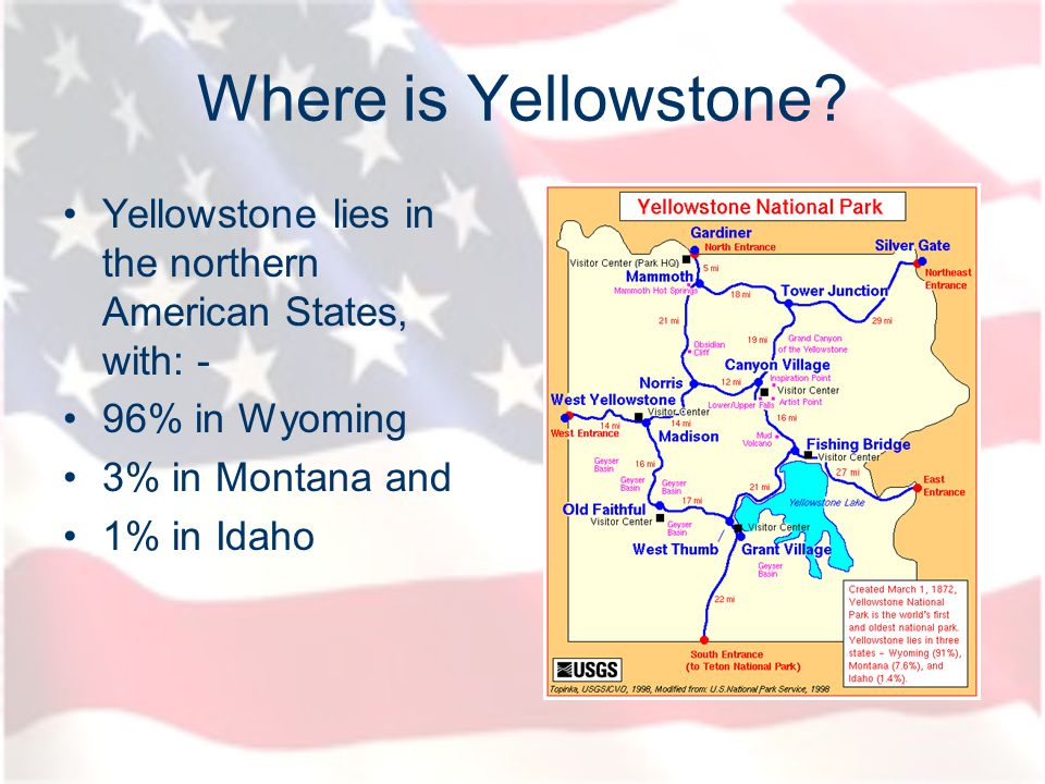 In 1872, Yellowstone was established as the worlds first national park.