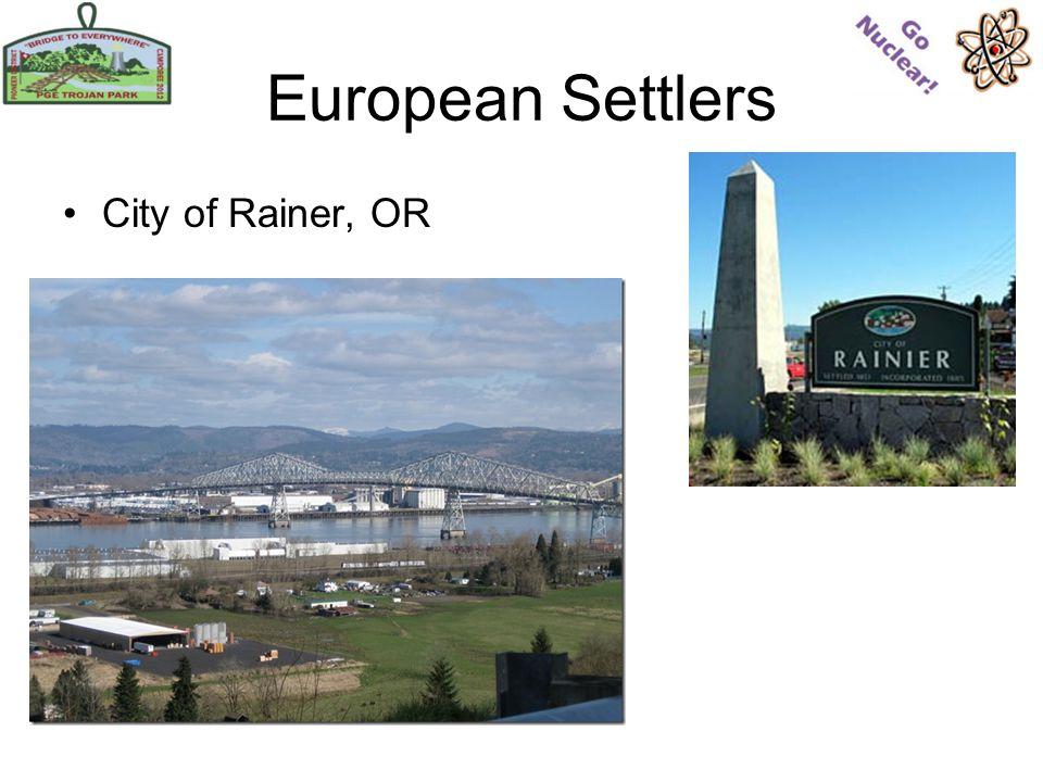 European Settlers City of Rainer, OR