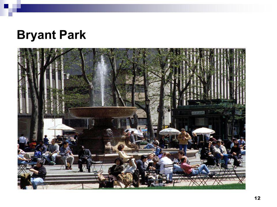 12 Bryant Park
