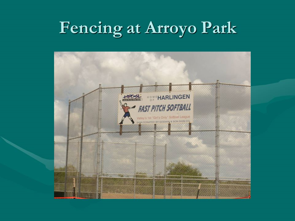 Fencing at Arroyo Park