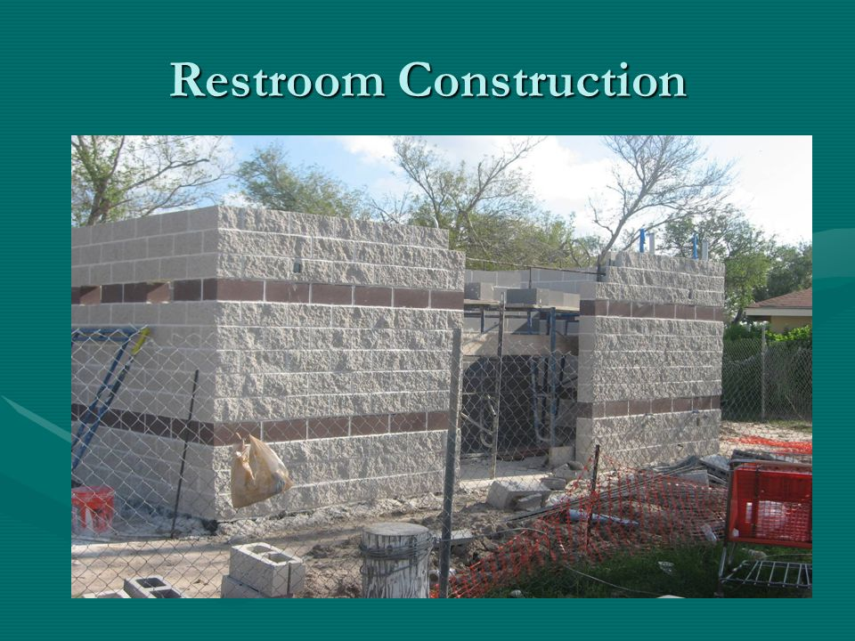 Restroom Construction