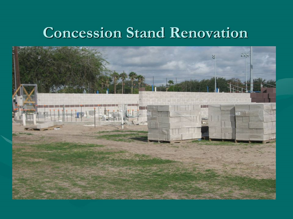 Concession Stand Renovation