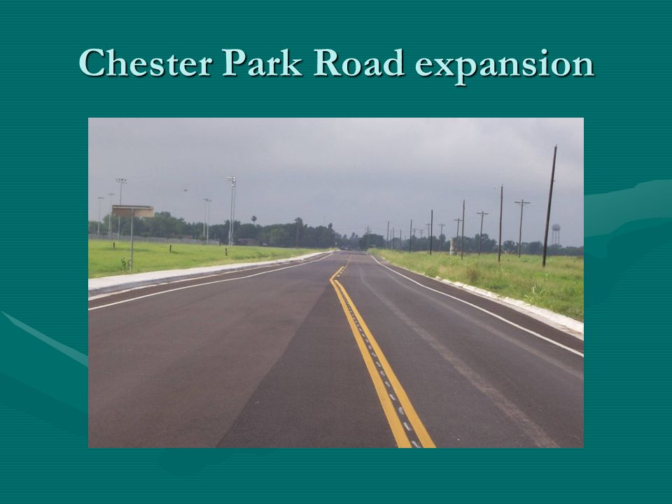 Chester Park Road expansion