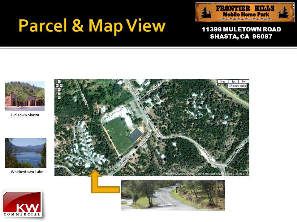 11398 MULETOWN ROAD SHASTA, CA 96087 Old Town Shasta Whiskeytown Lake