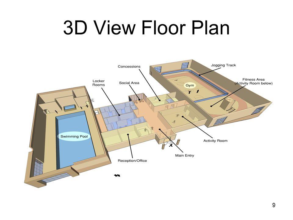 9 3D View Floor Plan