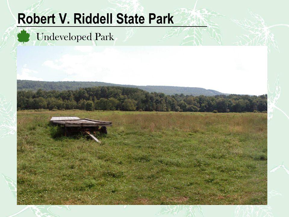 Robert V. Riddell State Park Undeveloped Park