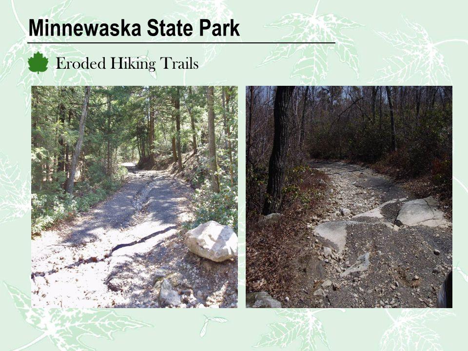 Minnewaska State Park Eroded Hiking Trails