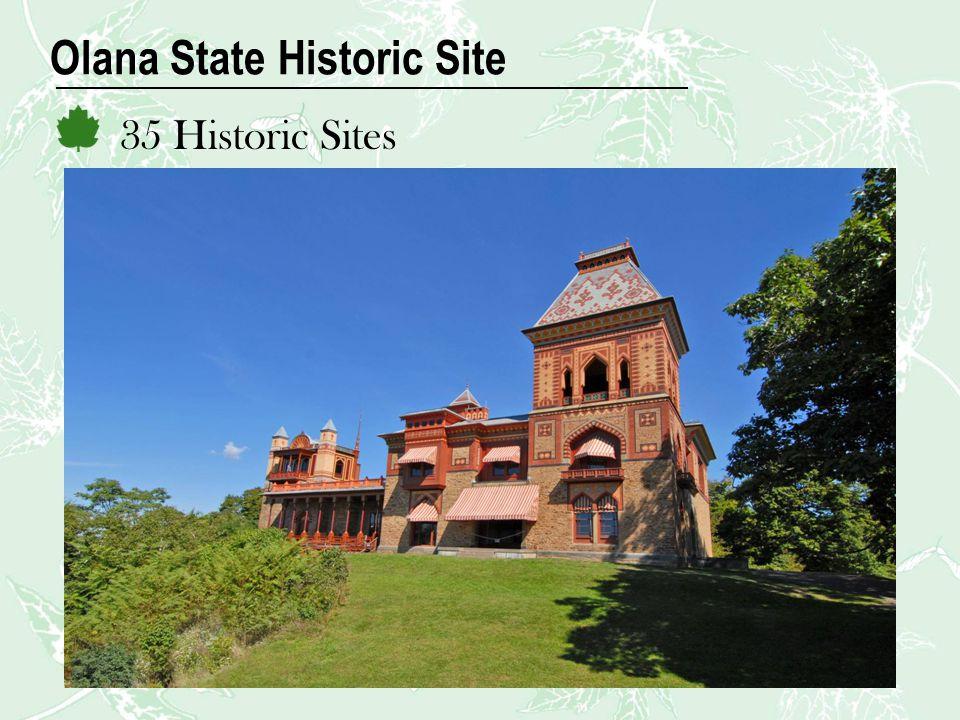 Olana State Historic Site 35 Historic Sites