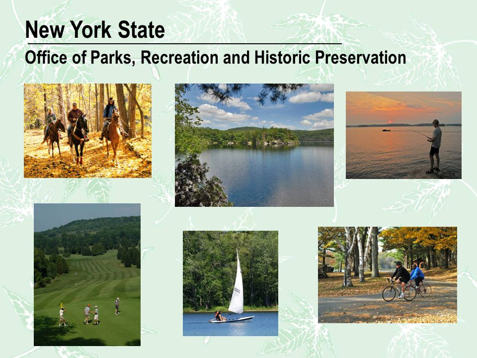 New Image New York State Office of Parks, Recreation and Historic Preservation