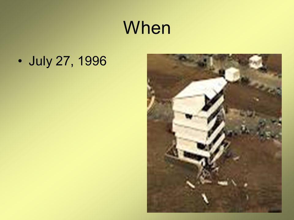 When July 27, 1996