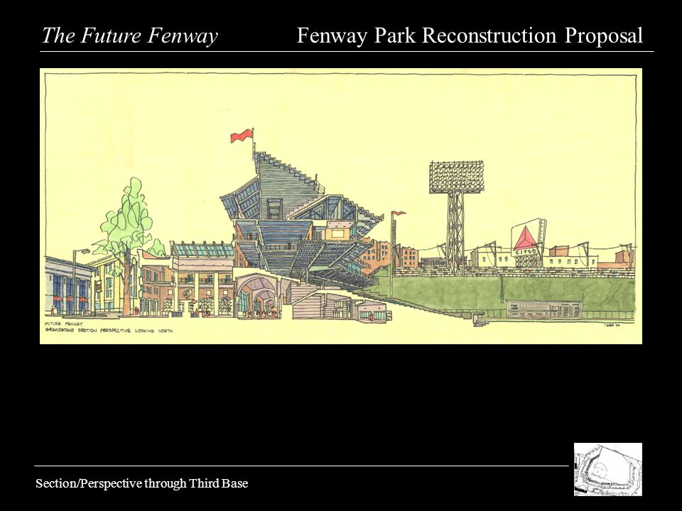 Section/Perspective through Third Base The Future Fenway Fenway Park Reconstruction Proposal