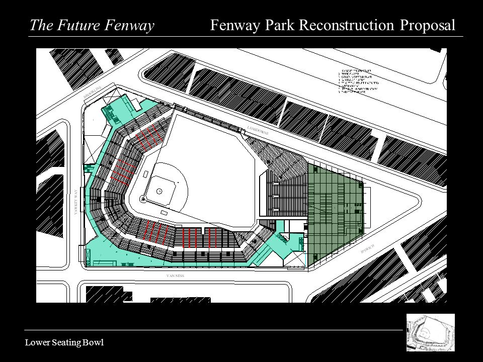 Lower Seating Bowl The Future Fenway Fenway Park Reconstruction Proposal