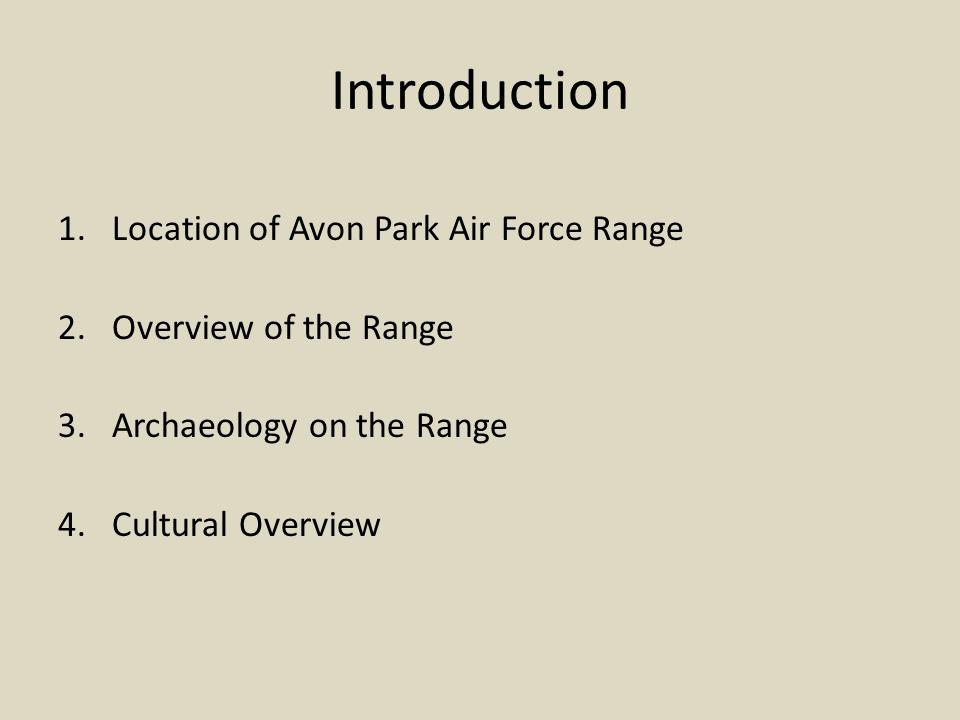 Avon Park Location Map