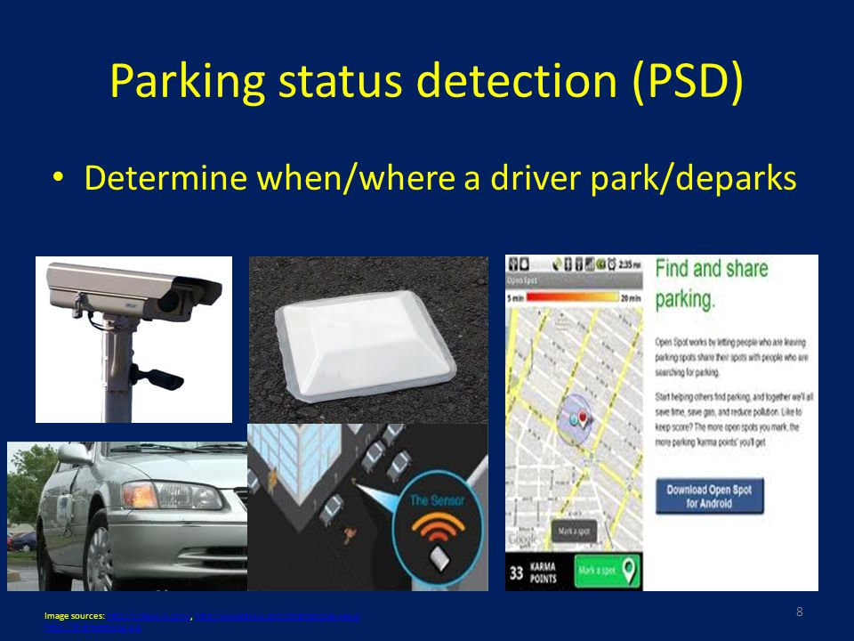 Parking Availability Estimation (PAE) combining history with real time – Kalman Filter estimation (KF) 19