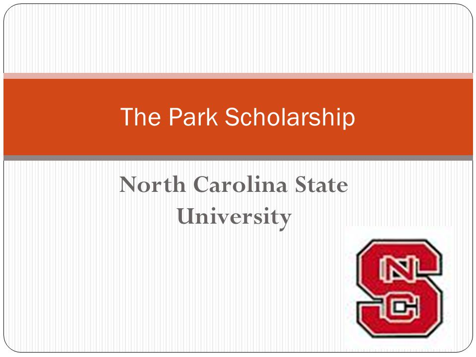 North Carolina State University The Park Scholarship