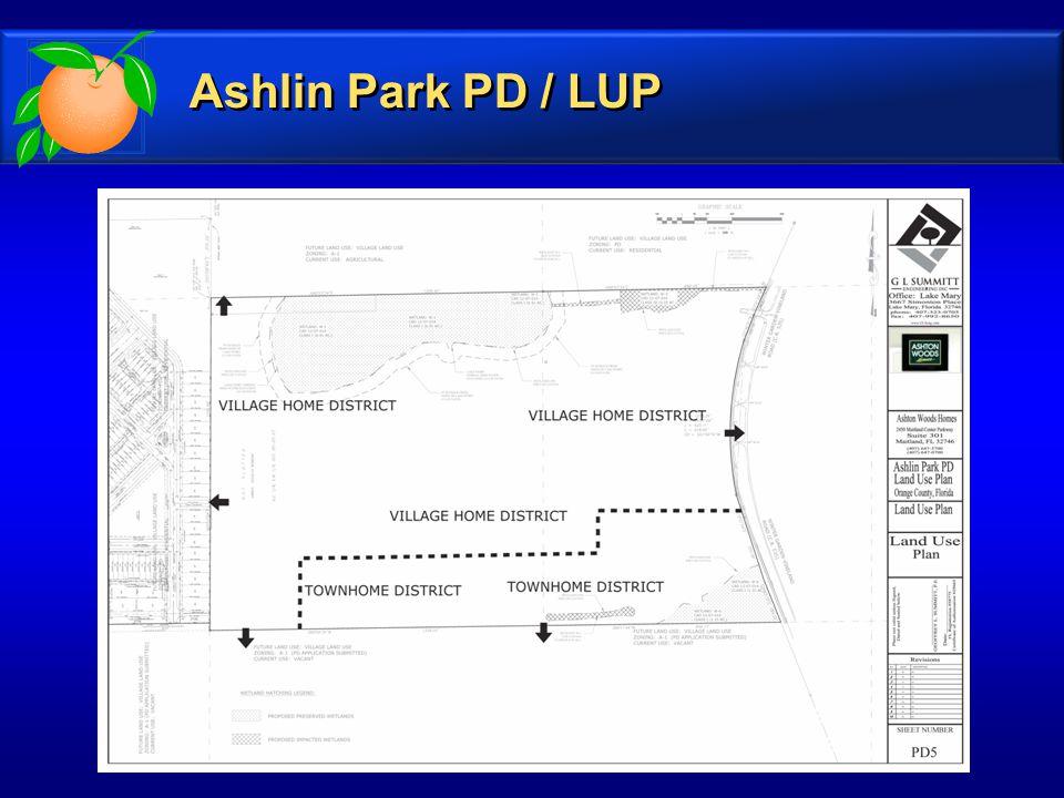 Ashlin Park PD / LUP