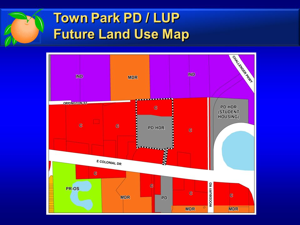 Town Park PD / LUP Future Land Use Map Town Park PD / LUP Future Land Use Map