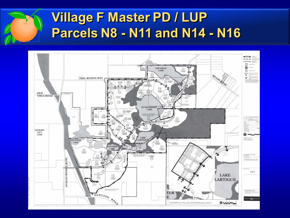 Village F Master PD / LUP Parcels N8 - N11 and N14 - N16 Village F Master PD / LUP Parcels N8 - N11 and N14 - N16