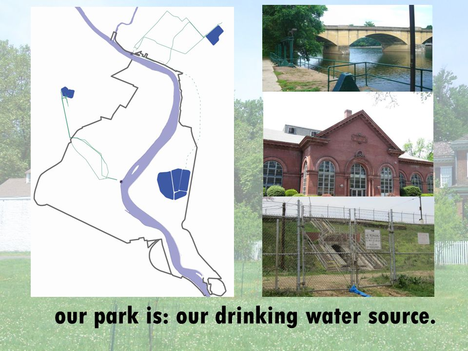 our park is: our drinking water source.