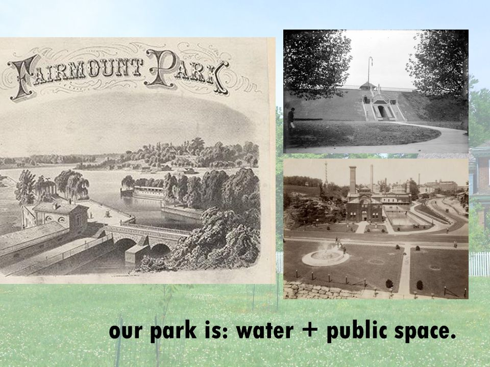 our park is: water + public space.