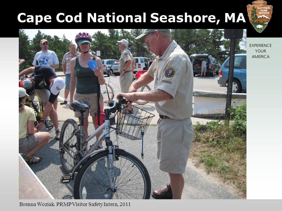 Cape Cod National Seashore, MA Brenna Woziak. PRMP Visitor Safety Intern, 2011