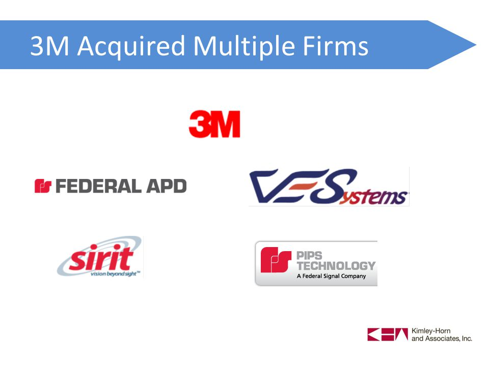 3M Acquired Multiple Firms