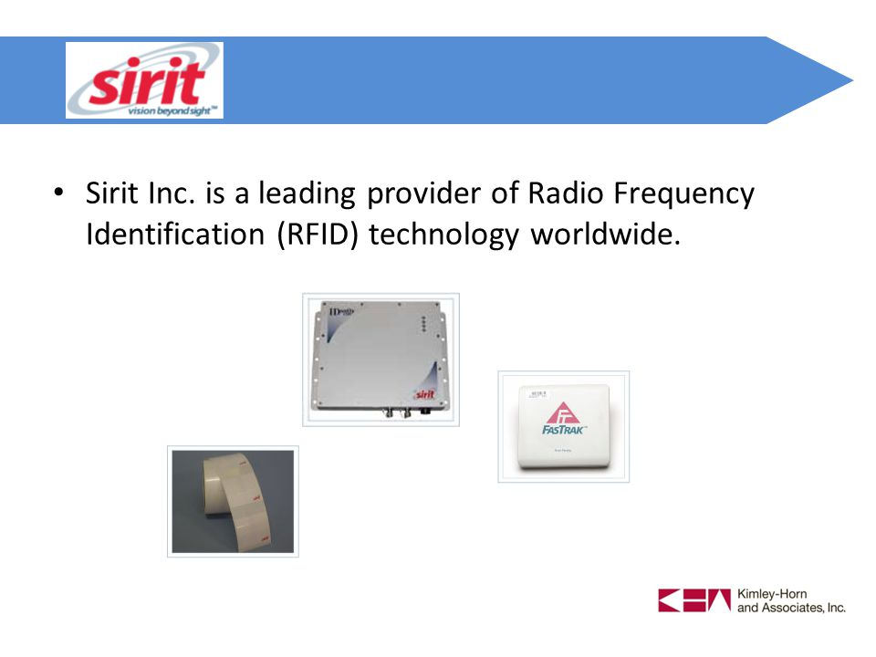 Sirit Inc. is a leading provider of Radio Frequency Identification (RFID) technology worldwide.
