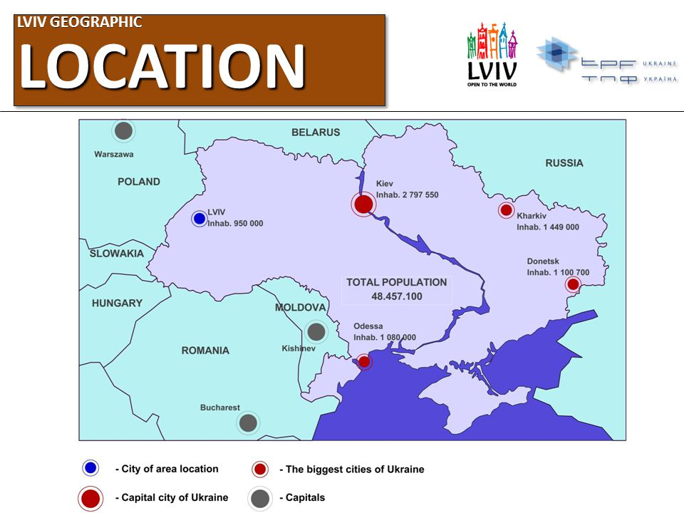 LVIV GEOGRAPHIC LOCATION