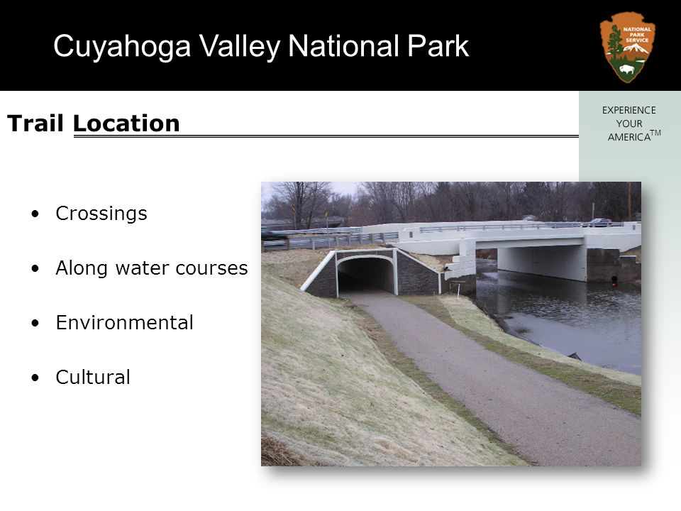 Cuyahoga Valley National Park TM River and stream erosion