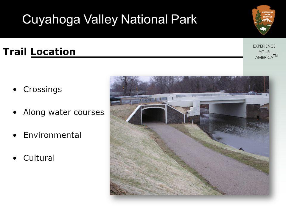 Cuyahoga Valley National Park TM Bank Erosion Gabion walls Gabion protected slopes