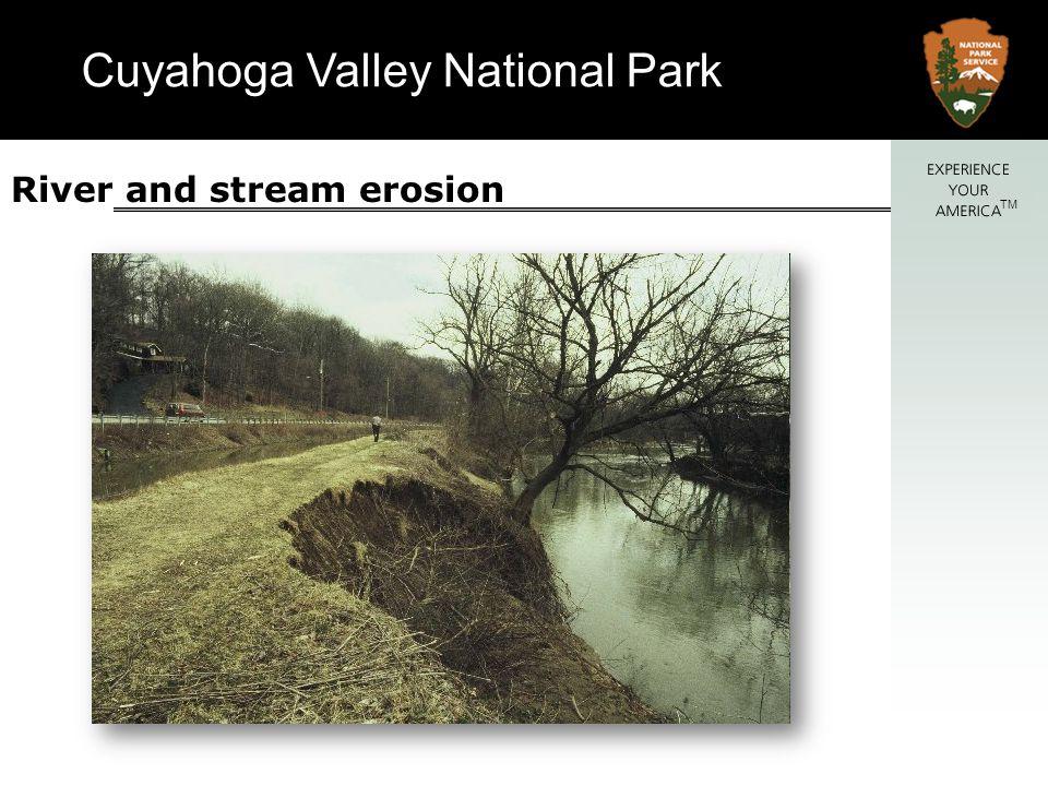 Cuyahoga Valley National Park TM Flooding