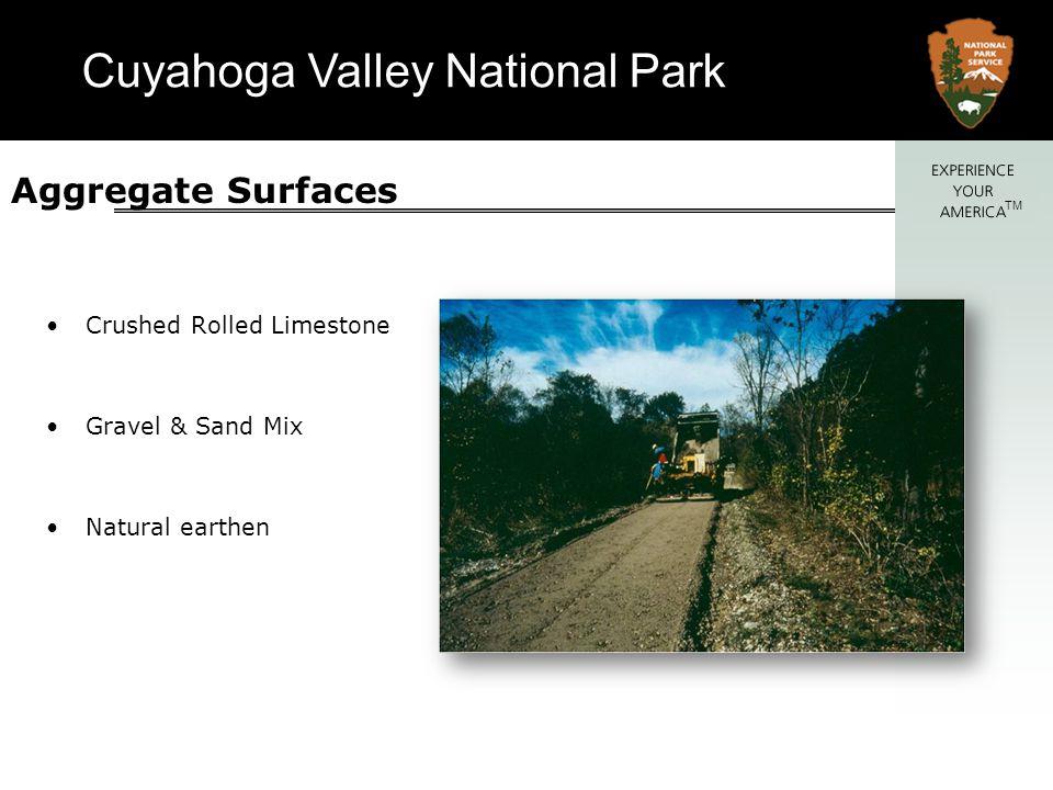 Cuyahoga Valley National Park TM Paved Hardened Surface Asphalt