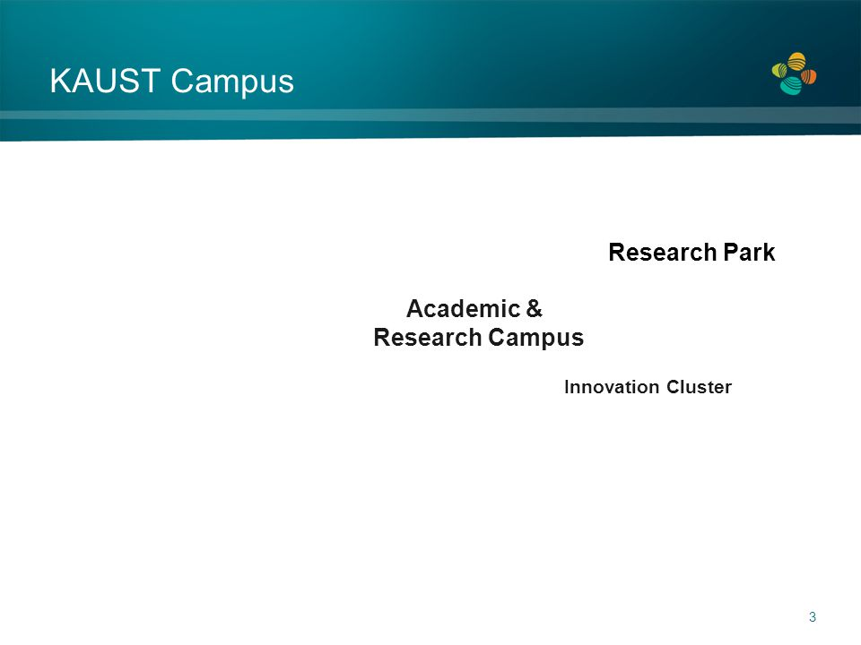 KAUST Campus 3 Academic & Research Campus Innovation Cluster Research Park