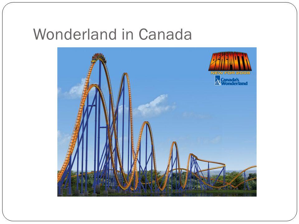 Wonderland in Canada