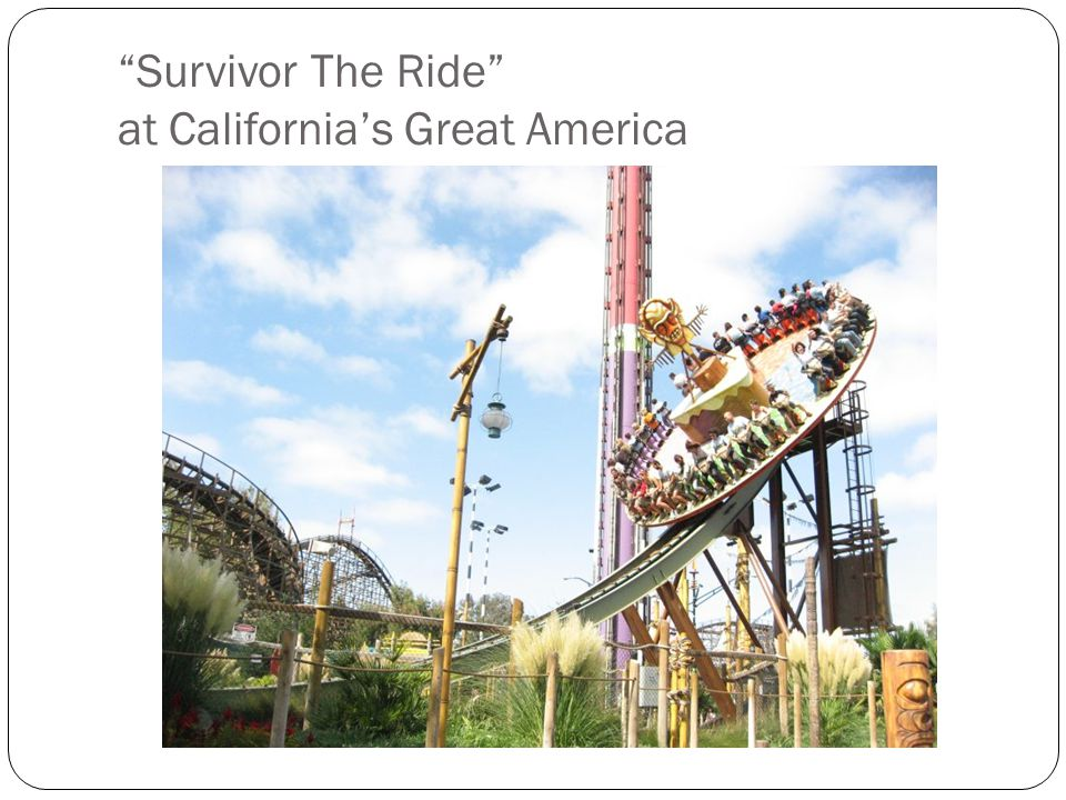 Survivor The Ride at Californias Great America