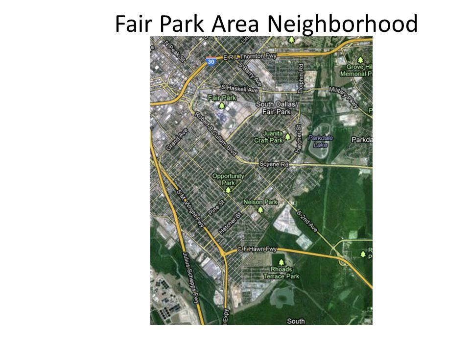 Fair Park Area Neighborhood