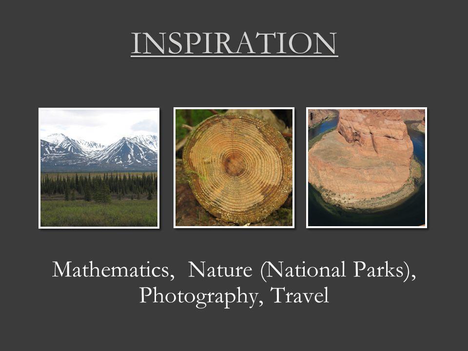 Mathematics, Nature (National Parks), Photography, Travel INSPIRATION