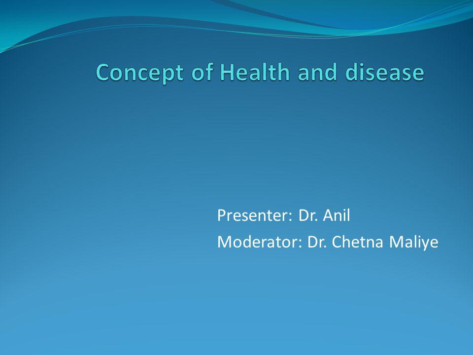 Presenter: Dr. Anil Moderator: Dr. Chetna Maliye